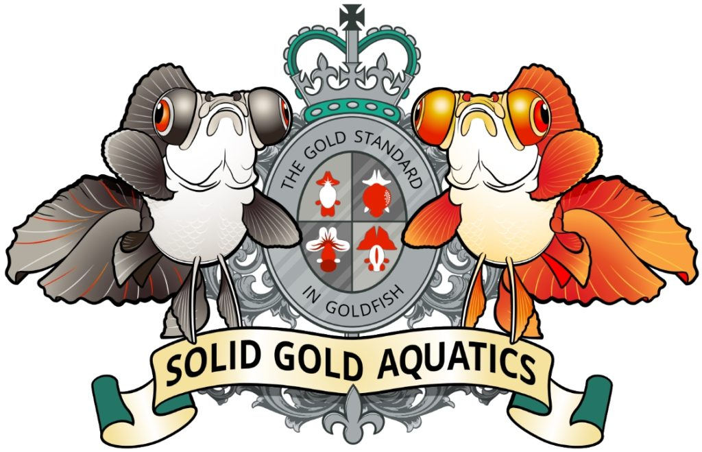 solid gold aquatics coat of arms